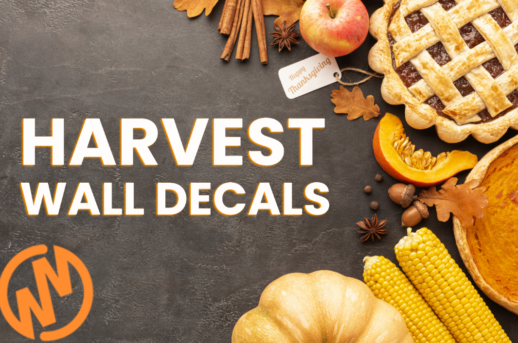 7 Themes for Decorating with Harvest Wall Decals