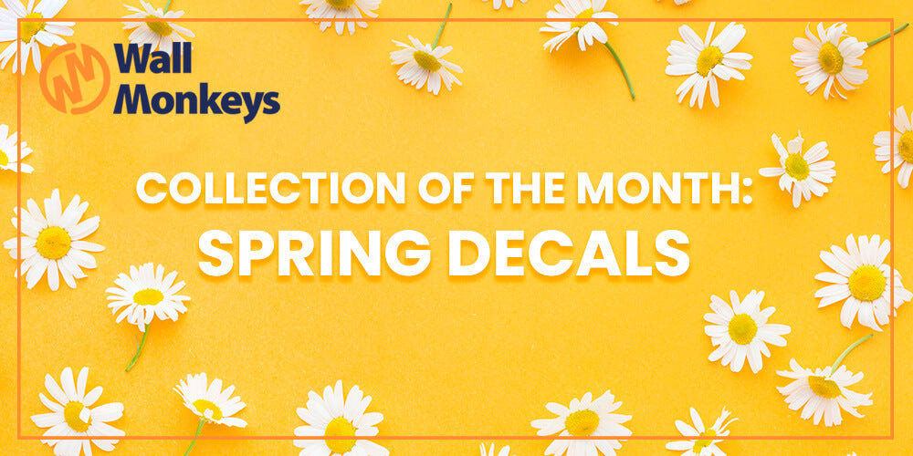 April Collection of the Month: Spring Wall Decals