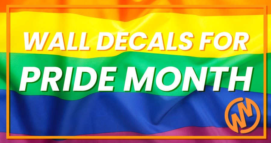 Top Wall Decals & Stickers for Pride Month