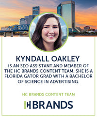 kyndall oakley is an seo assistant and member of the content team at HC Brands. she is a florida gator grad with a bachelor of science in advertising