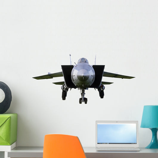 Mig-25 Foxbat Fighter Wall Decal