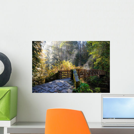 Silver Falls State Park Wall Decal