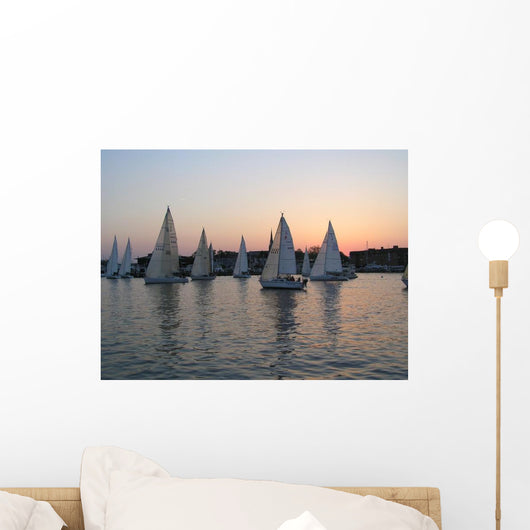 Segelbootrennen Annapolis Wall Decal
