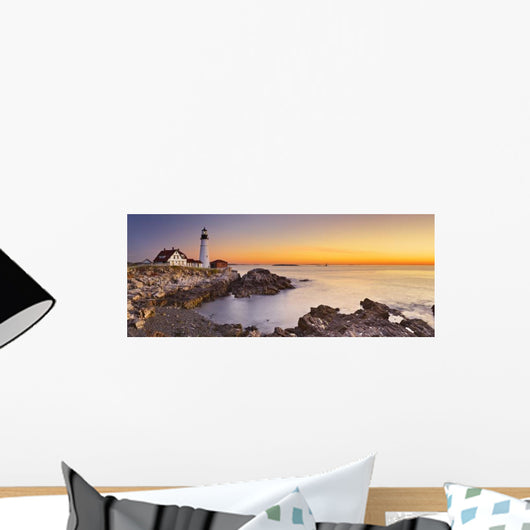 Portland Head Lighthouse Maine Wall Decal