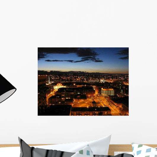Denver Dusk Wall Decal