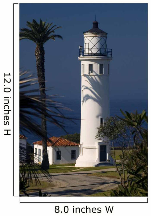 Point Vicente La Lighthouse Wall Decal