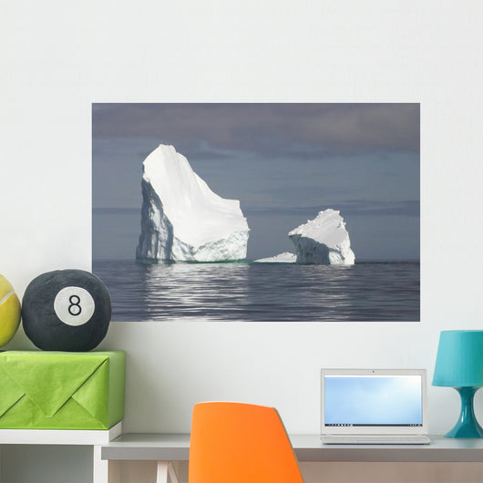 Antarctica Iceberg Wall Decal Design 1