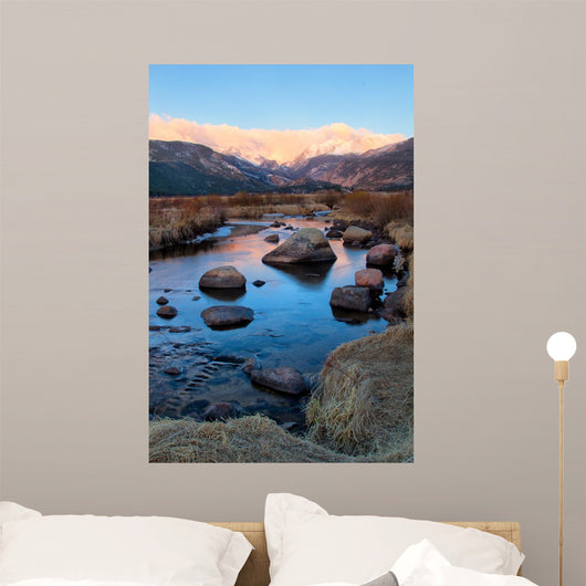 Thompson River Rocky Mountains Wall Decal