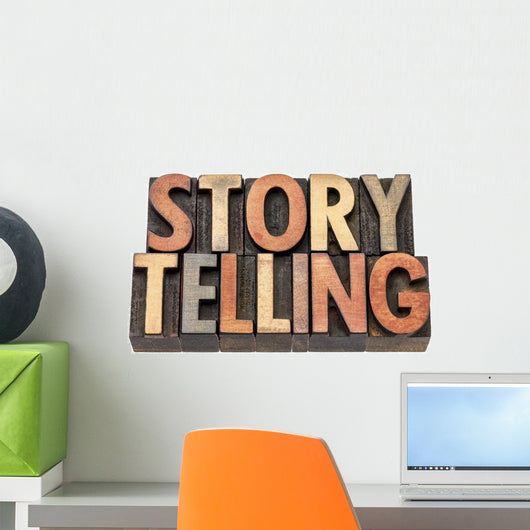 Storytelling Word Wall Decal