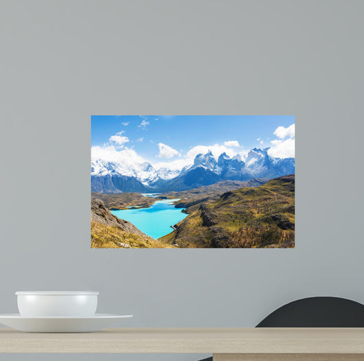Torres Del Paine Wall Decal Design 3