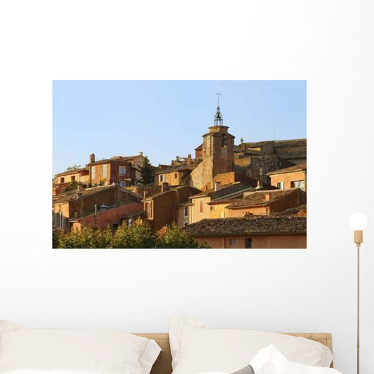 Village Roussillon Provence Wall Decal