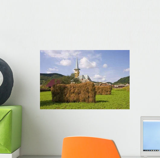 Country Landscape Romania Wall Decal