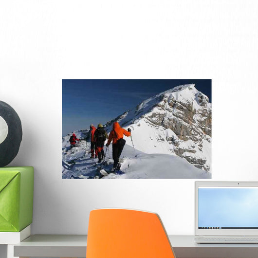 Snowshoe Trip Wall Decal