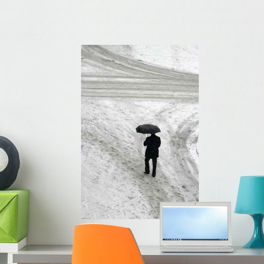 Snow New 1 Wall Decal