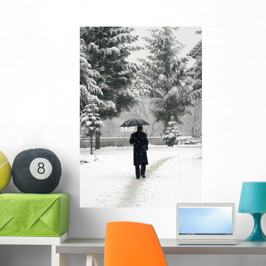 Snow New 3 Wall Decal Design 1