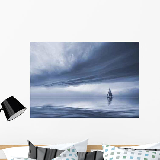 Dramatic Sky Wall Decal Design 1