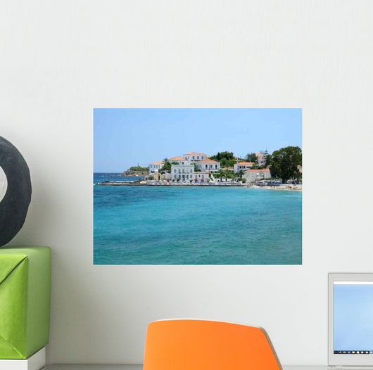 Spetses Town Wall Decal