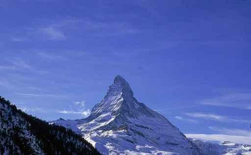 Matterhorn Wall Decal