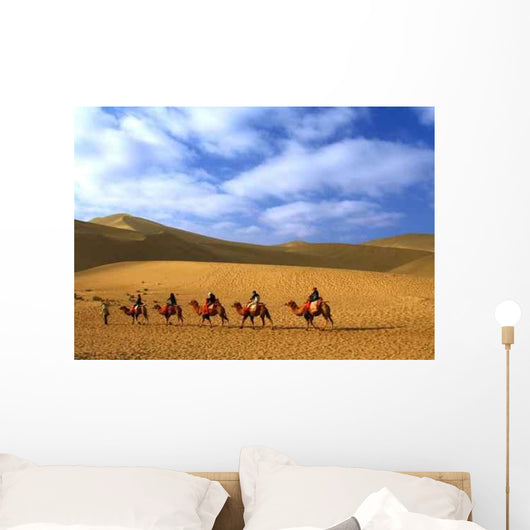 Echoing Sand Hill Wall Decal