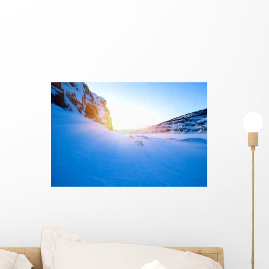Winter North Lake and Wall Decal Design 1