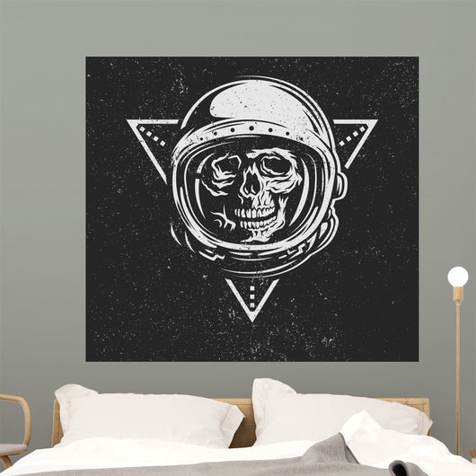 Dead Astronaut Spacesuit Wall Decal