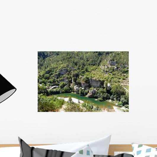 Gorges Du Tarn Wall Decal
