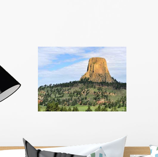 Devil Tower Wall Decal