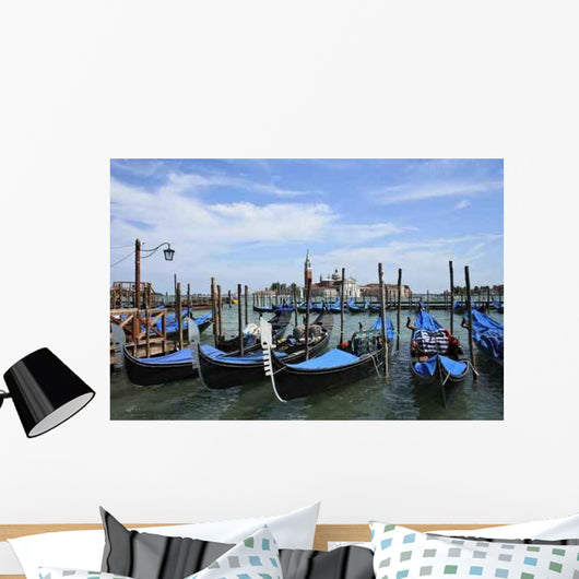 Gondolas Venice Wall Decal