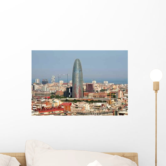 Barcelona Wall Decal Design 1