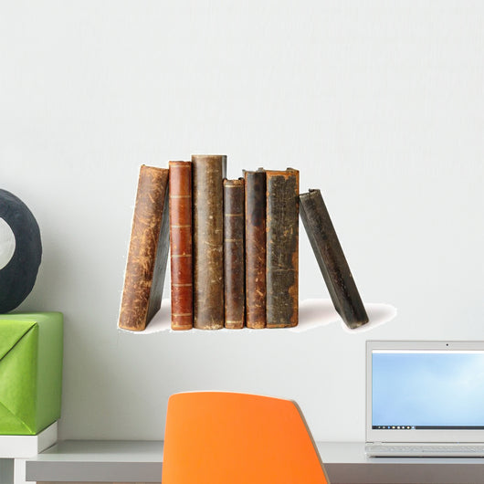 Old Books Wall Decal