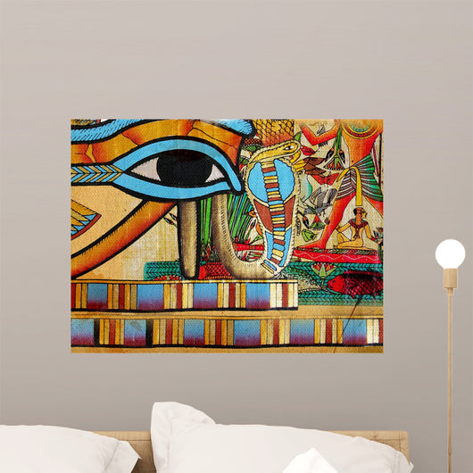 Egyptian Abstraction Wall Decal