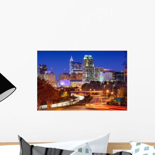 Raleigh North Carolina Wall Decal