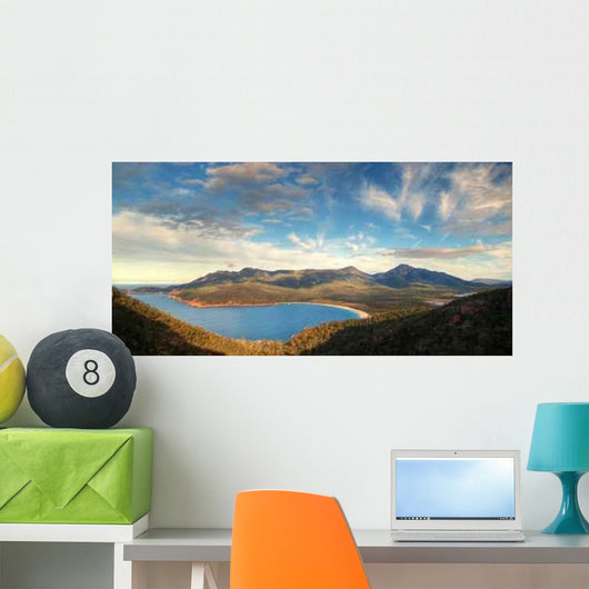 Wineglass Bay Wall Decal