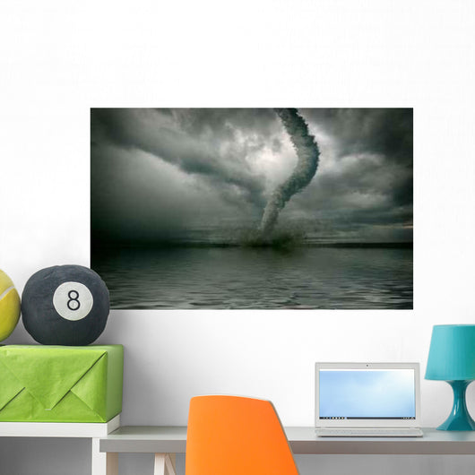 Tornado Wall Decal