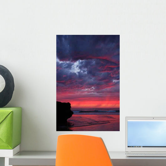 Sky Fire Wall Decal