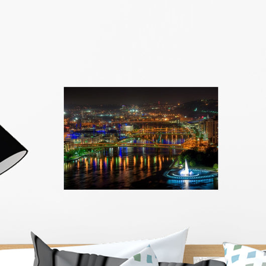 Allegheny River Pittsburgh Wall Decal