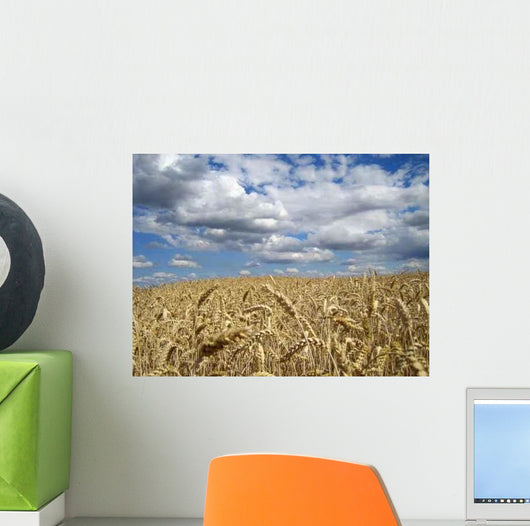 Grain Field Wall Decal
