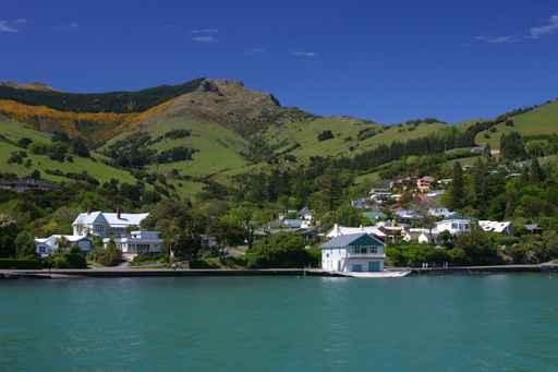 Akaroa-le Village Wall Decal