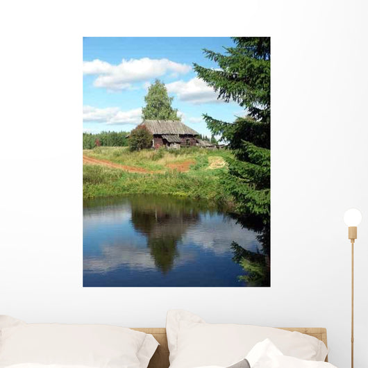 Abandoned Village Wall Decal