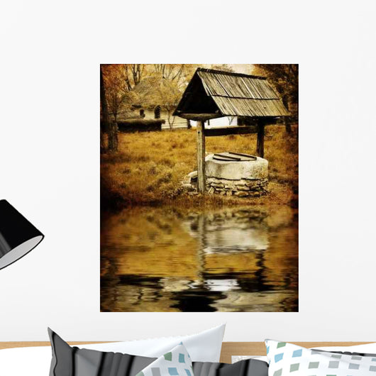 Ancient Water Well Wall Decal