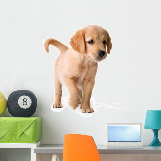 Puppy Wall Decal Design 2
