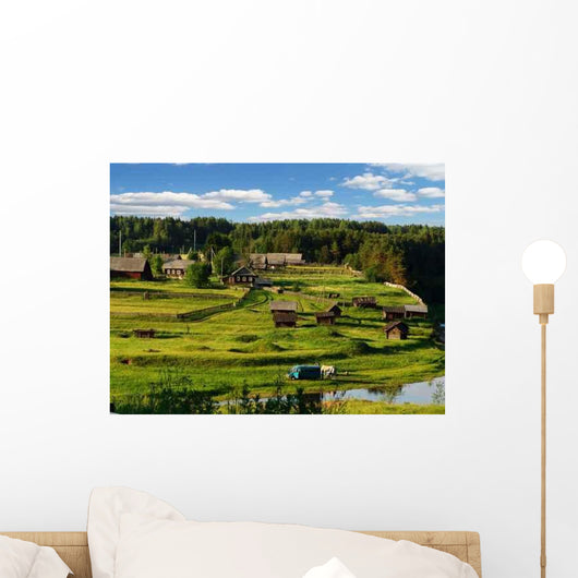 Northern Village 2 Wall Decal