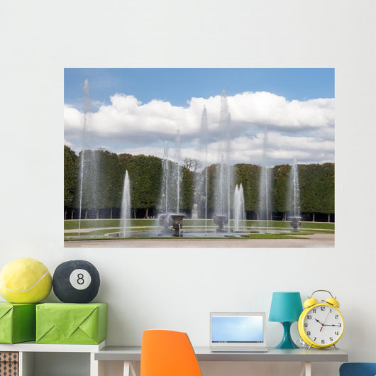 Versailles Palace France Fountain Wall Decal