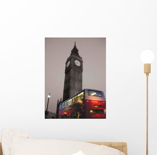 Big Ben Amp Red Wall Decal
