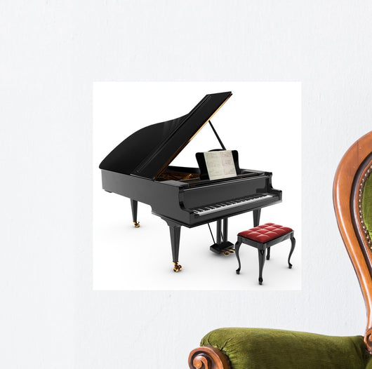 Grand Pianio Wall Decal