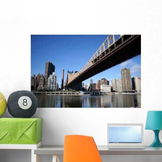 New York from Lincoln Wall Decal
