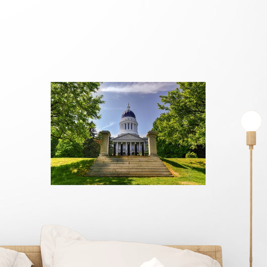 Maine State House Wall Decal