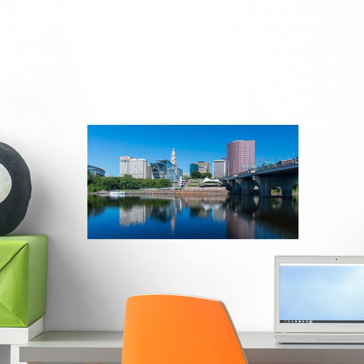 Downtown Hartford and Connecticut Wall Decal