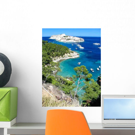 Tremity Islands Panorama Wall Decal