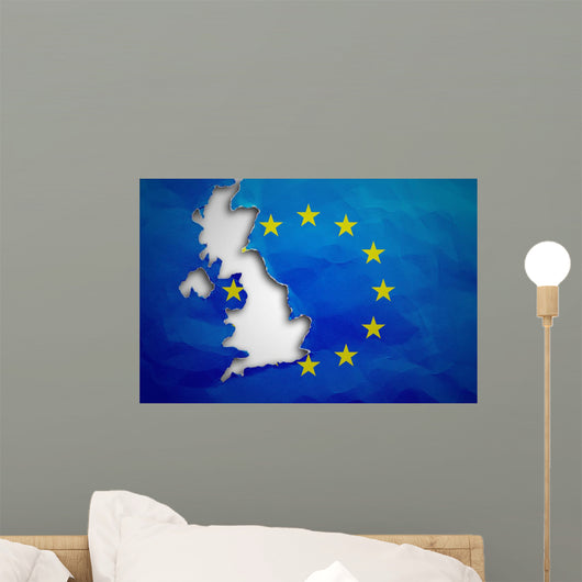 United Kingdom Withdrawal from Wall Decal